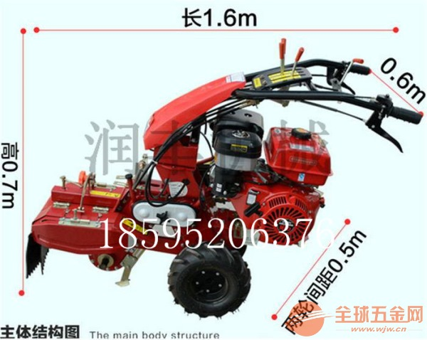 唐山186型田园管理机价格农用小型耕地机