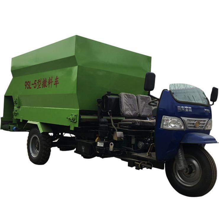 玉溪柴油撒料车价格 现货供应撒料车