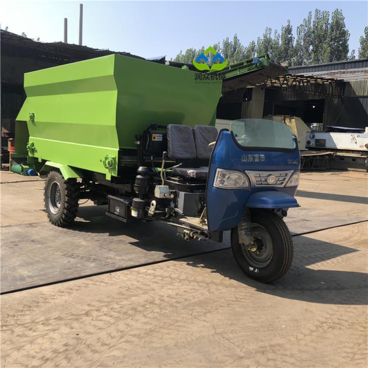 内江养殖场用撒料车 自动喂料车型号