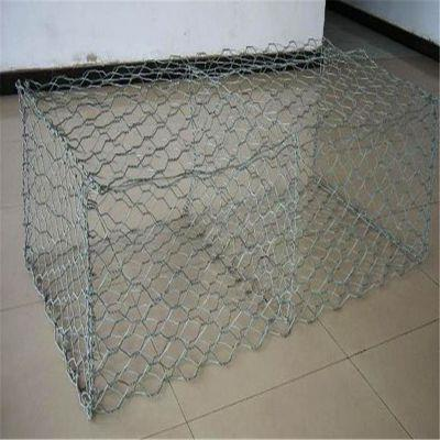 護岸鋅鋁合金石籠網防洪用石籠網