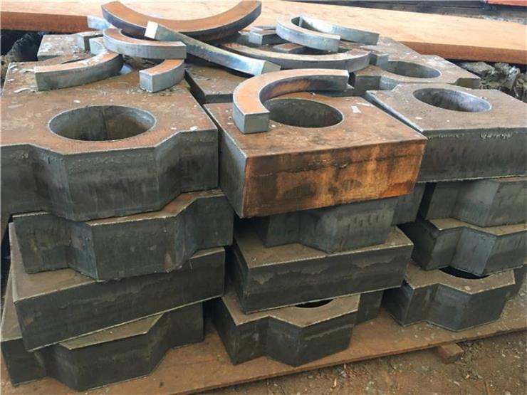 容城 45钢板 中厚钢板切割
