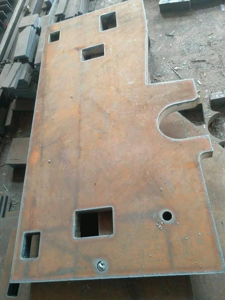 曲周 低合金板切割割方割圆 机械零部件切割