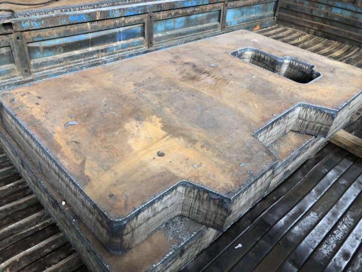 普兰店Q355B低合金钢板切割