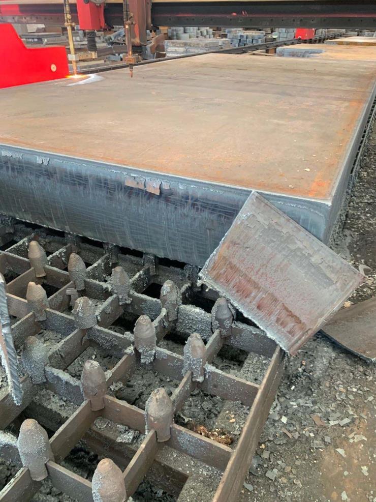 容器钢板特钢数控火焰切割下料按图按尺寸定制