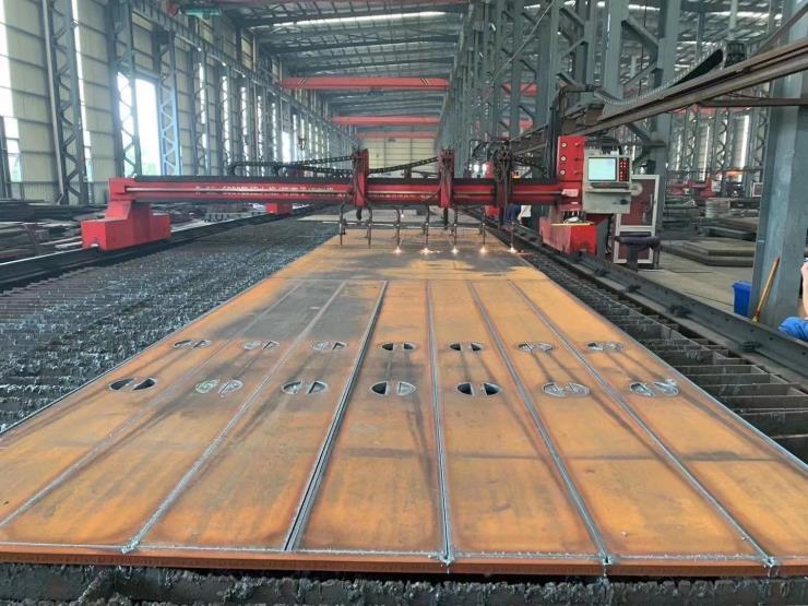 钢板切割厂数控火焰下料零切厚板特厚钢板