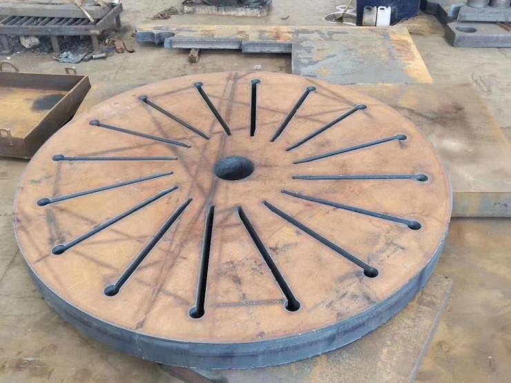 宁夏中厚钢板切割厂数控火焰切割按图按尺寸零切下料