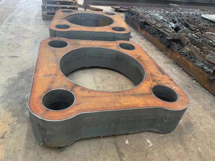 钢板切割杭州中厚板切割下料特厚钢板零切下料