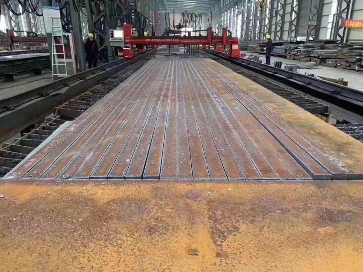 钢板切割件数控火焰下料45钢板 q235b q355b 零切下料