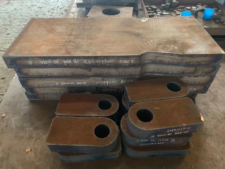 萧山钢板切割特厚钢板下料45钢q345b q235b