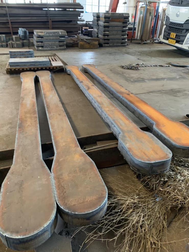 金州区Q345R容器钢板切割