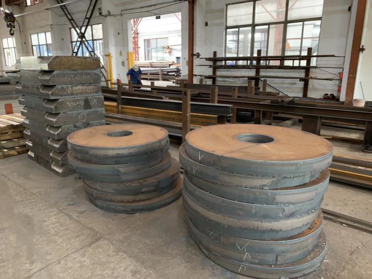 河北特厚钢板代替铸件钢板切割下料图形件毛料定制