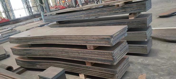 Q235B Q355B 45号钢板切割 40cr 42crmo板材下料