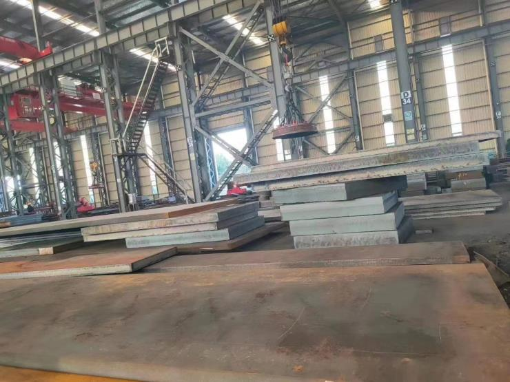 宁波中厚钢板切割厂数控火焰切割钢板