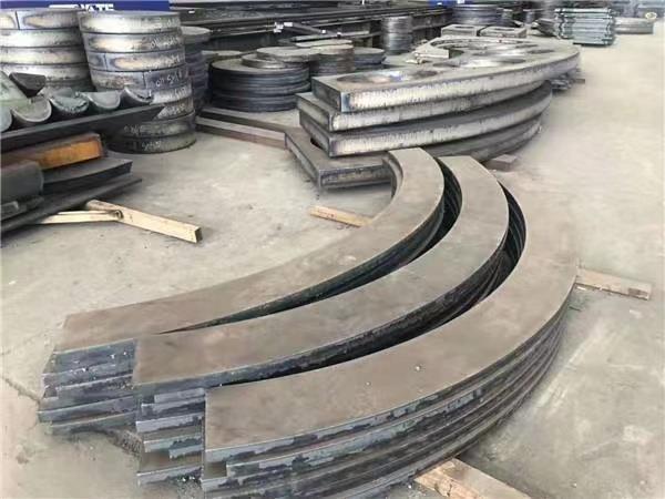 上海中厚钢板切割Q235B Q345B 45#碳板切割钢板材质