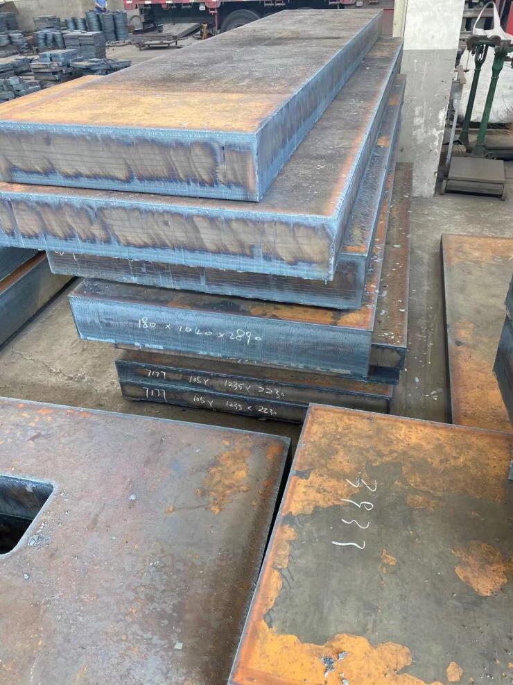 Q245R Q345R容器钢板切割带材质保证书零切下料
