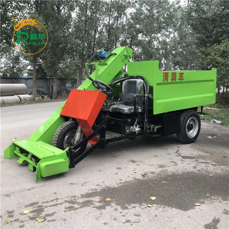 潮州五立方自动起粪车粪便清理运输车