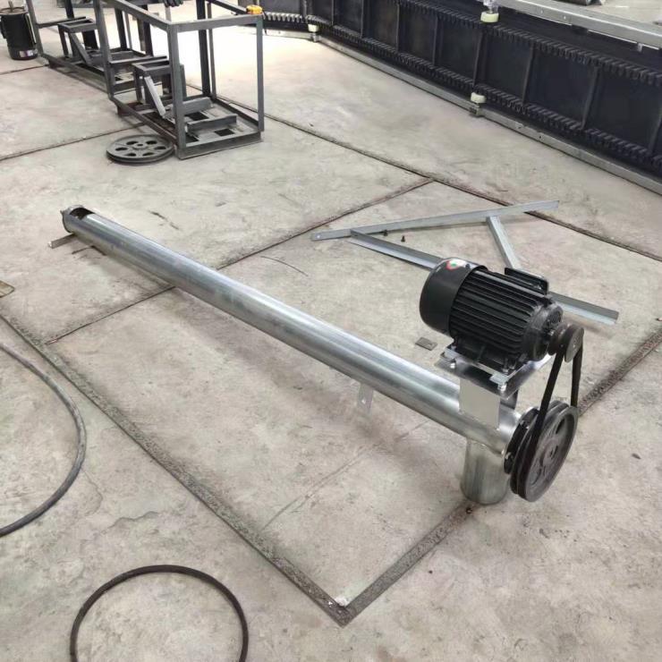 龙岩小型管式提料机小型提升机螺旋输送机
