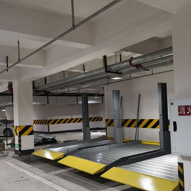 云南个旧停车位租赁 2柱立体车库停车设备加工