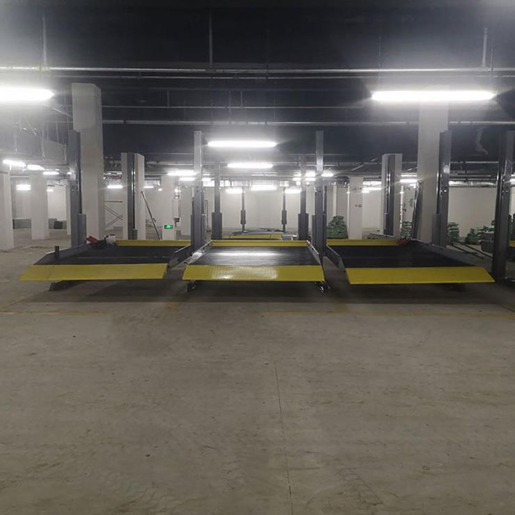 达州市渠县停车位租赁 巷道堆垛式机械停车设备制作