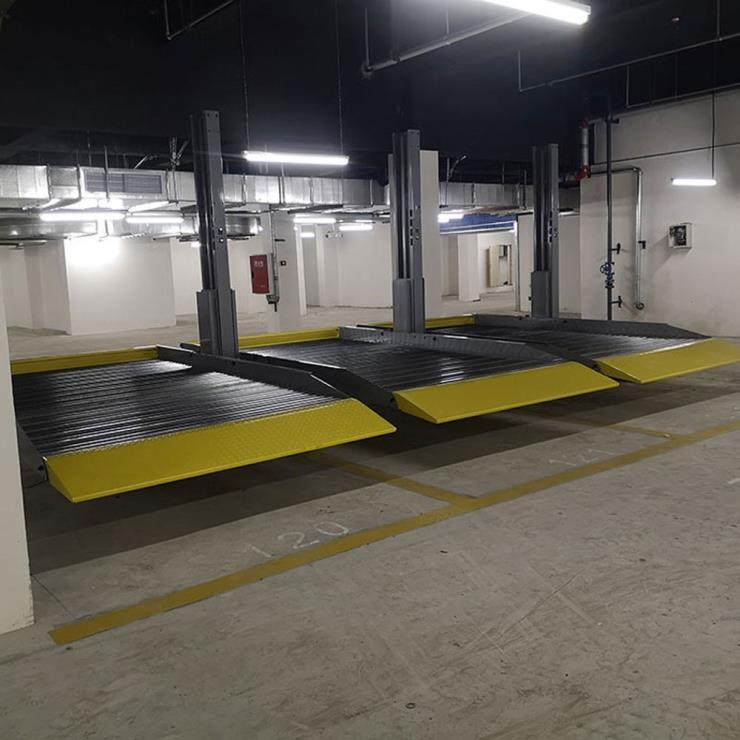 贵州铜仁停车位租赁 莱贝机械式立体车库过验收