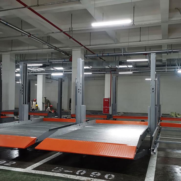 安康停车位租赁 莱贝机械立体停车设备上门回收