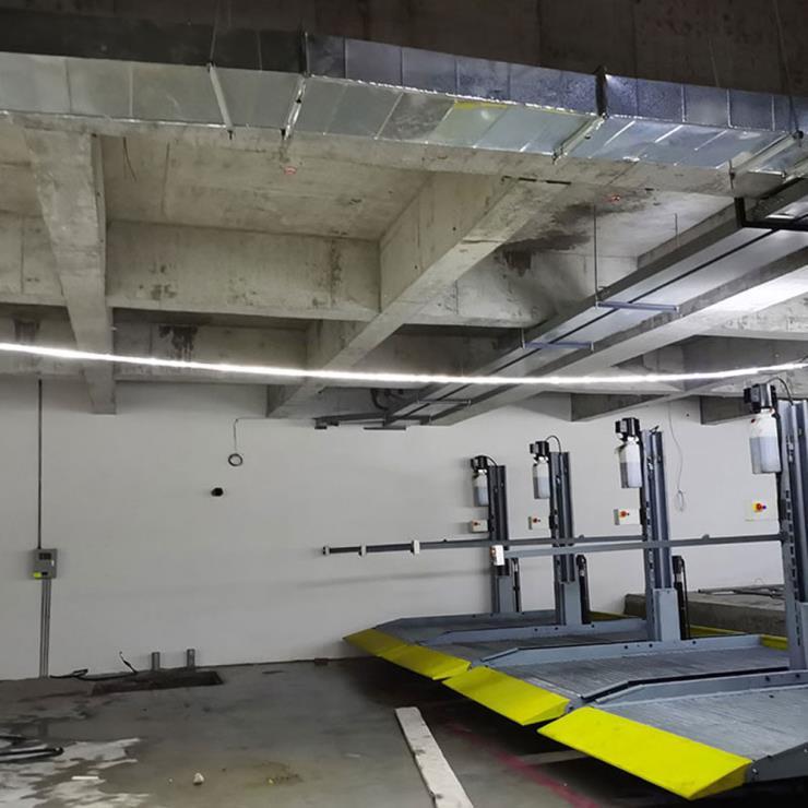 天水市清水县停车位租赁 横移机械立体车库制造