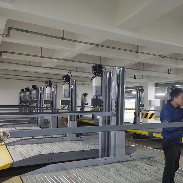 眉山市彭山区停车位租赁 双层机械停车场制造