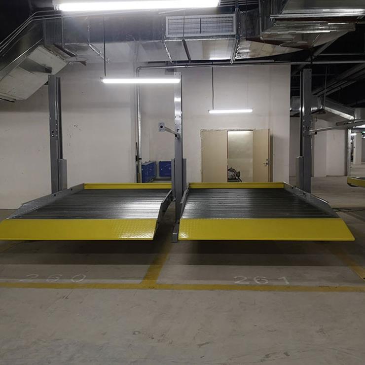 凉山州停车位租赁 莱贝机械式停车设备拆除