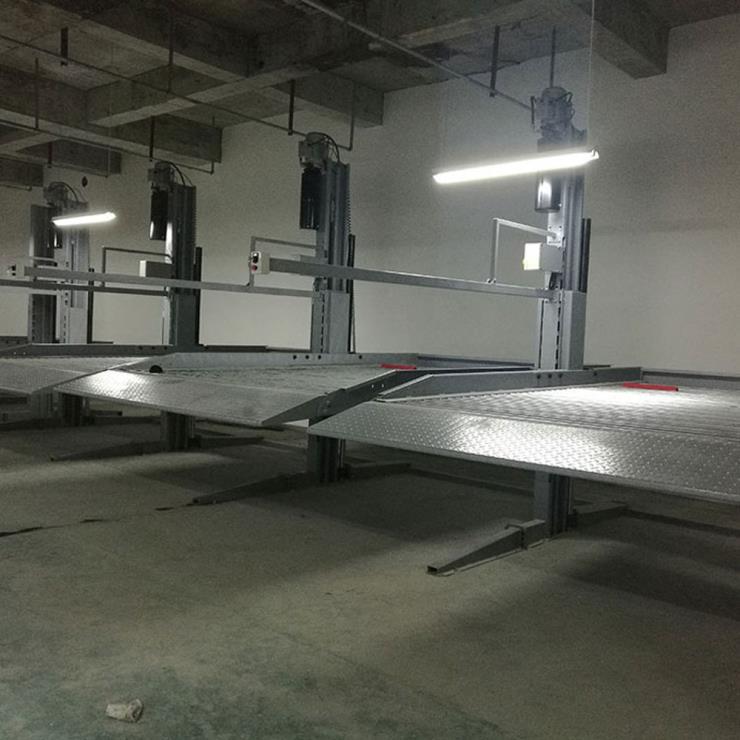 内江市威远停车位租赁 俯仰式停车库制造