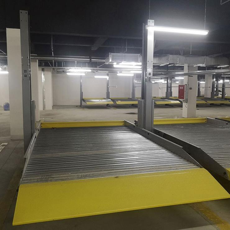 四川省彭州停车位租赁 2层机械车位制作