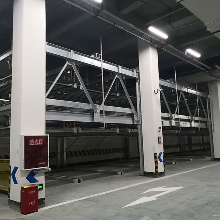紅河州建水縣停車位租賃 萊貝立體車庫過驗收