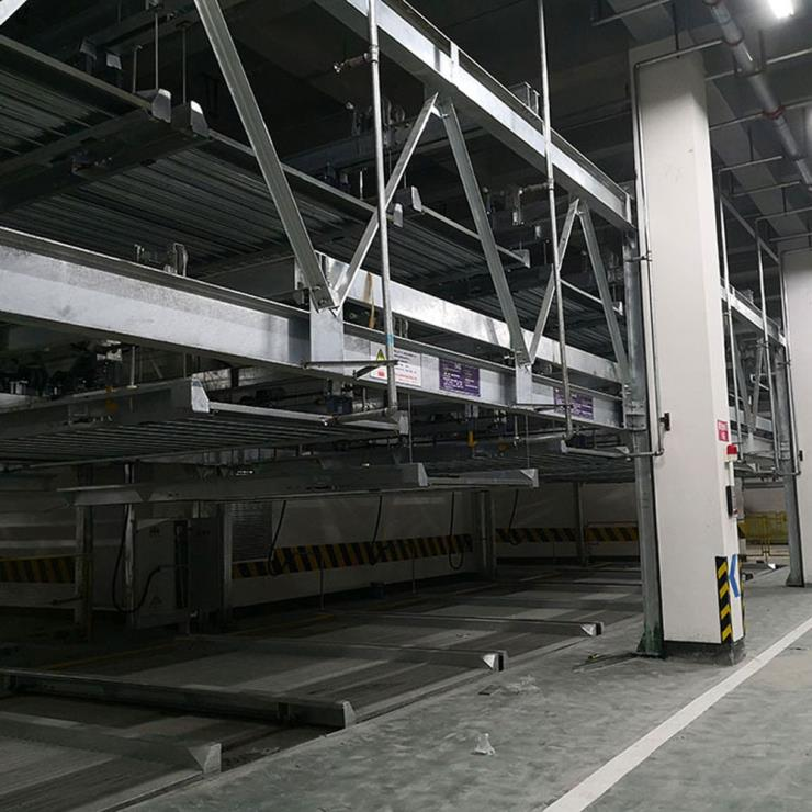 重庆九龙坡区停车位租赁 移动立体车库停车设备加工