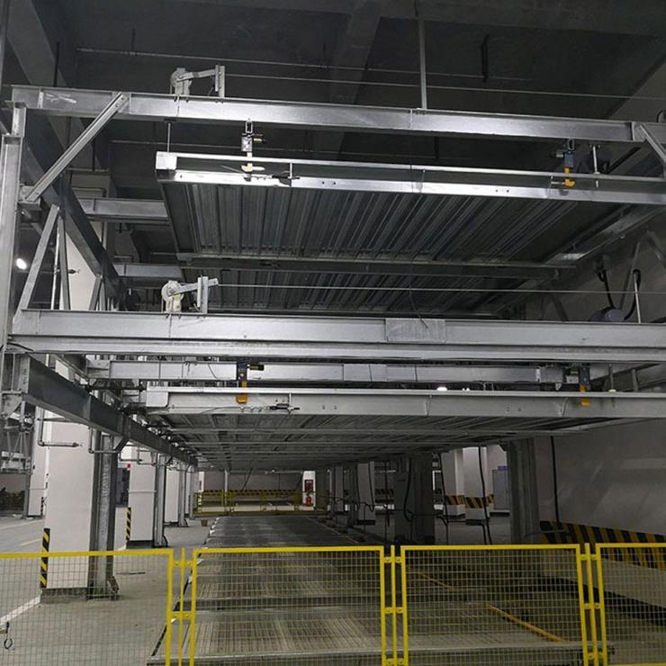 榆林市子洲停车位租赁 PPY机械立体停车设备制作