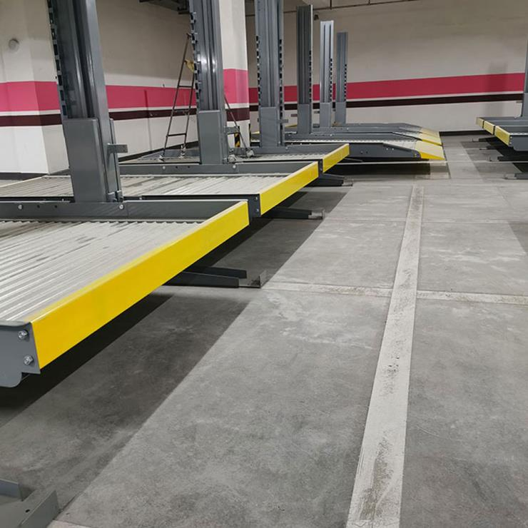 东坡停车位租赁 垂直升降机械停车位制造