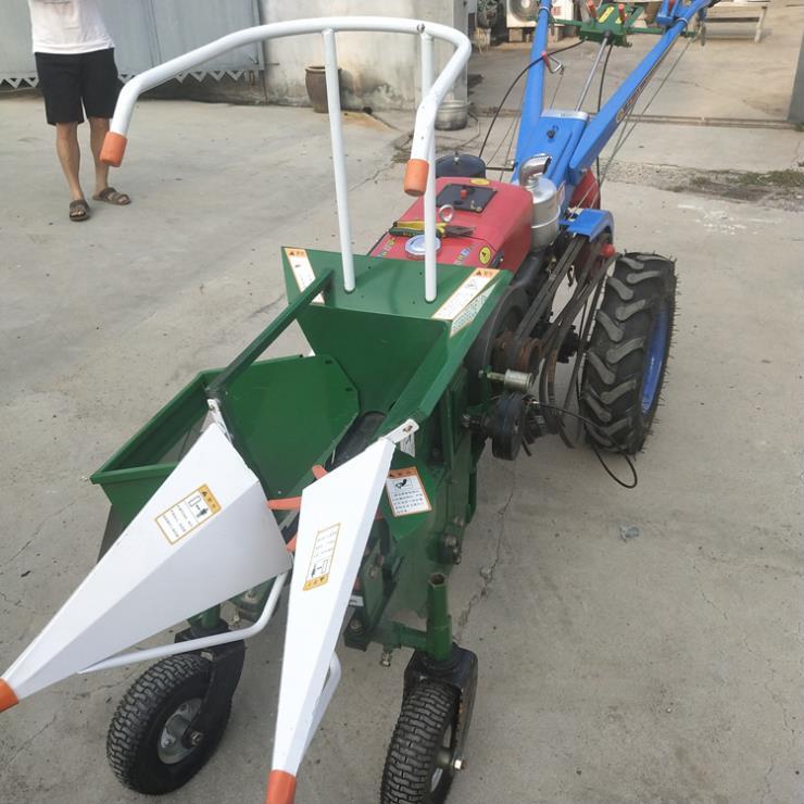 農用輕便型玉米收獲機自動手推種植機