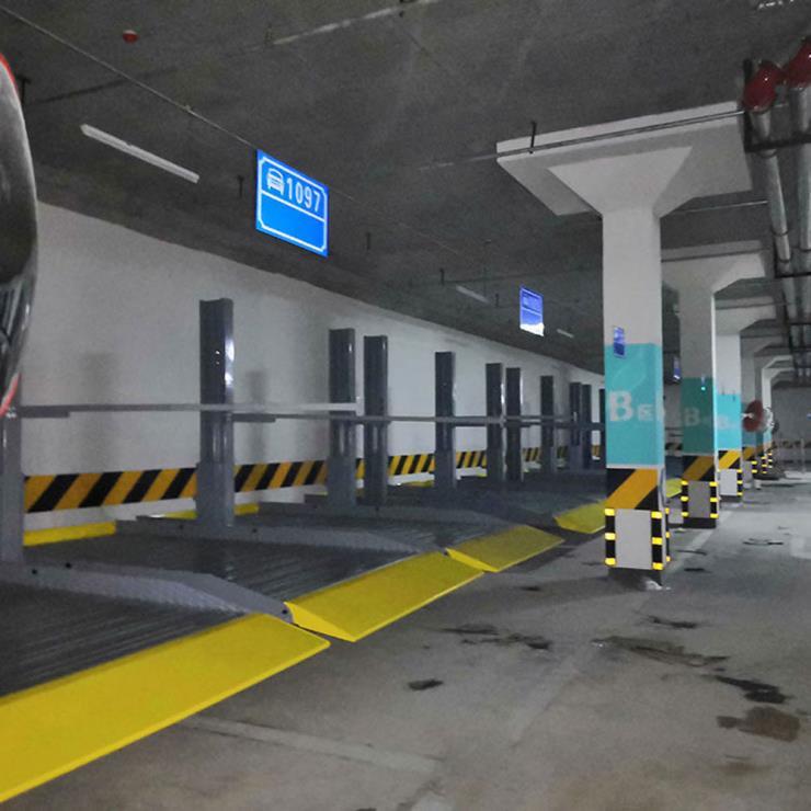 自贡市自流井区停车位租赁 垂直升降机械式停车库制作