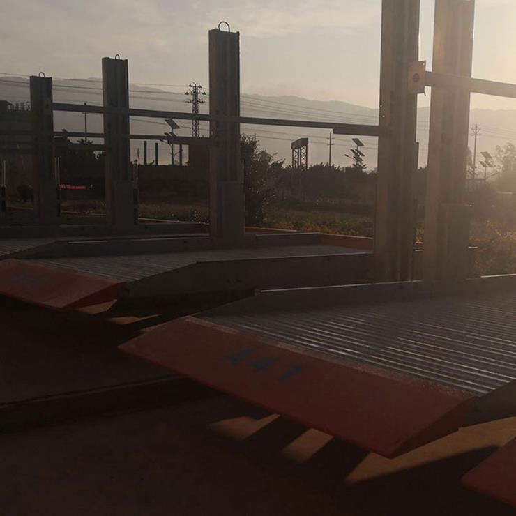 渭南白水停车位租赁 穿越式机械立体车库制造