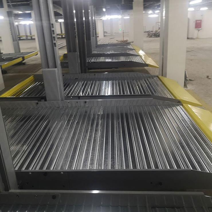 四川东坡停车位租赁 四柱式机械式停车位制作