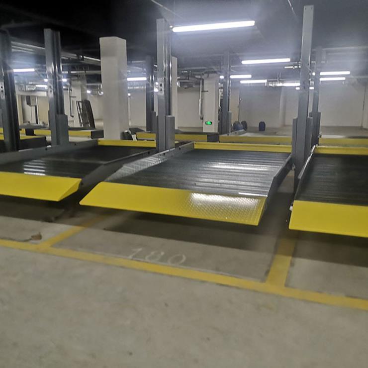 西安长安停车位租赁 四柱机械停车设备制作