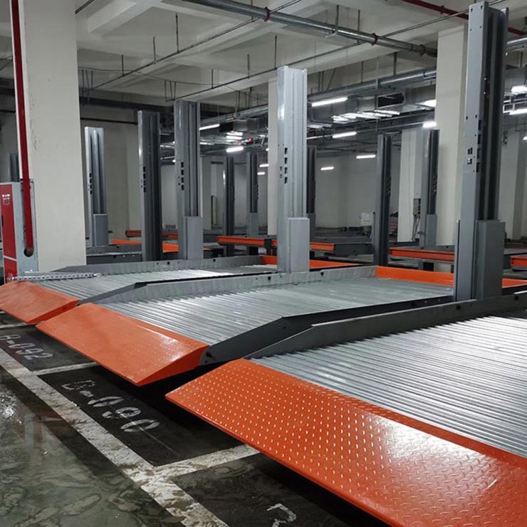 遂宁市安居停车位租赁 垂直升降式停车库制造