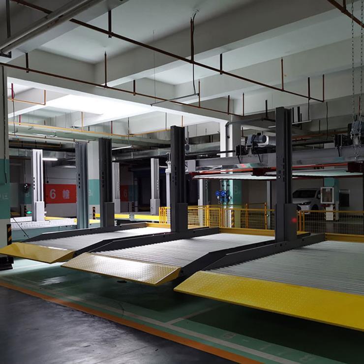 定西市通渭停车位租赁 俯仰式停车设备制作