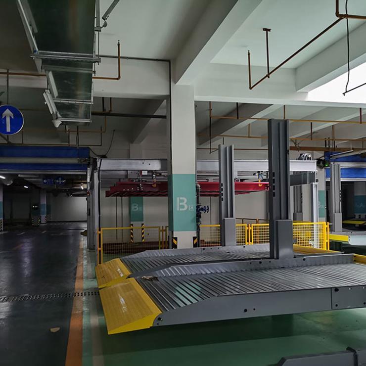 云南省嵩明停车位租赁 两柱式立体停车设备制作