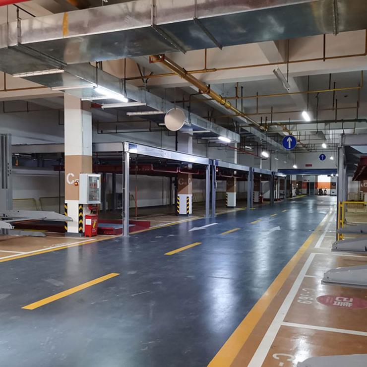 汉中市立体停车位租赁 立体停车位生产厂家