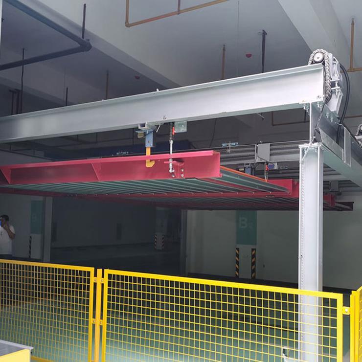 西安莲湖区停车位租赁 横移机械式停车设备制造