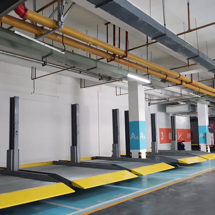 四川省峨边停车位租赁 俯仰式立体停车场制作