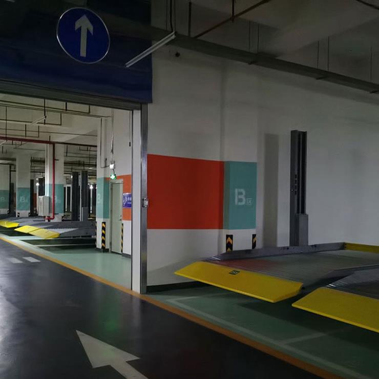 陕西省洋县停车位租赁 升降横移式机械立体停车设备制作