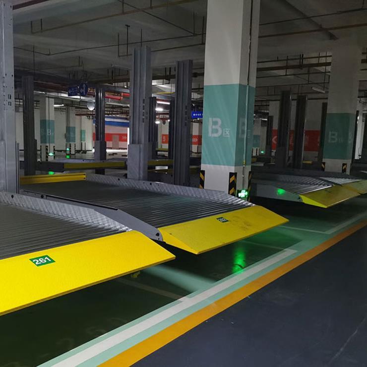 天水停车位租赁 智能机械式停车位制作