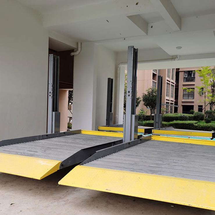 普洱江城县停车位租赁 莱贝立体车库停车设备回收租赁