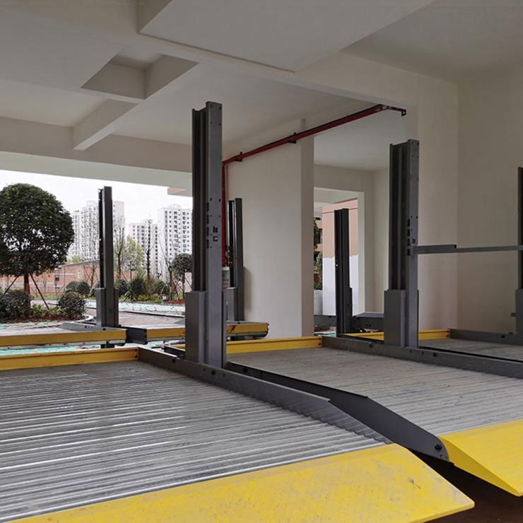 安康石泉县停车位租赁 全智能机械式停车库制作