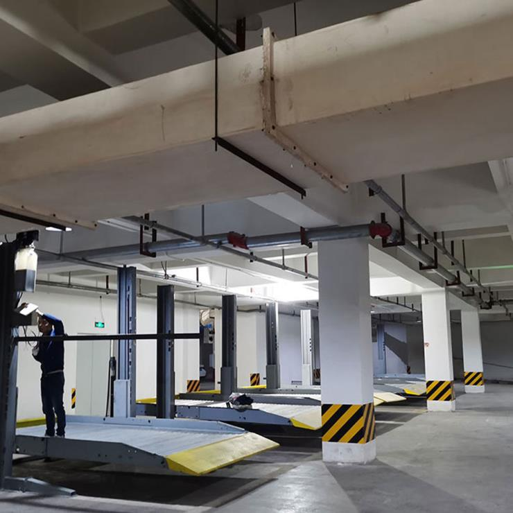 华阴市停车位租赁 2柱立体停车设备加工